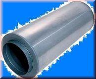 Rohrschalldämpfer DN100 Dämmstärke=100mm L=1000mm