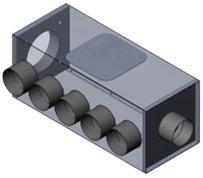 Luftverteiler Isol 180/12x75