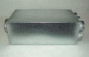 Luftverteiler mit Schalldämpfer 125/12x50