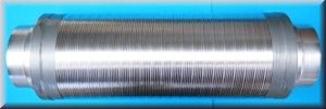 Telefonieschalldämpfer DS=50 L=1000 DN 100